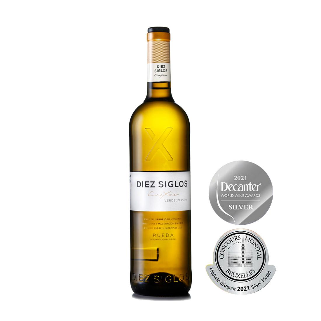Diez Siglos Cien x Cien - Diez Siglos de Verdejo - Vino Blanco